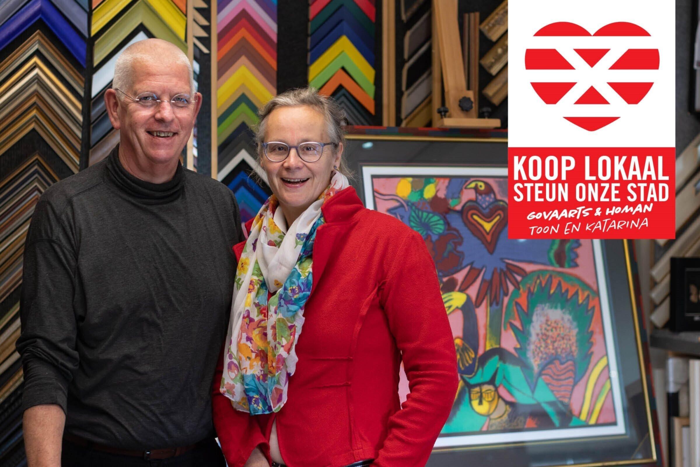 Steun onze stad Koop lokaal Enschede Govaarts Homan