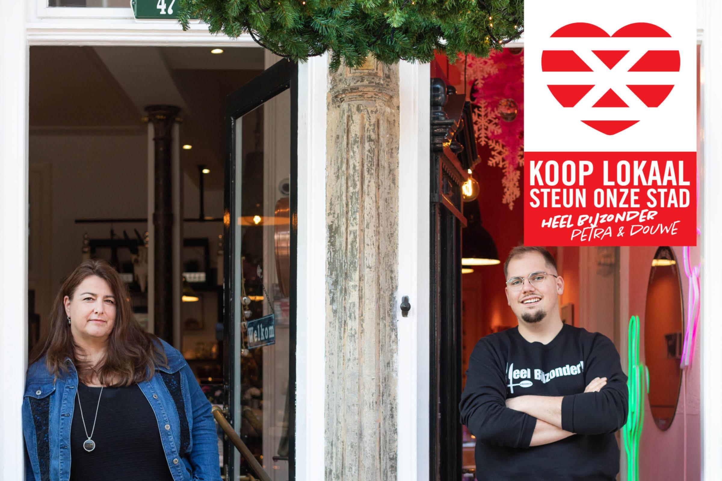 Steun onze stad Koop lokaal Enschede Heel Bijzonder Petra Douwe