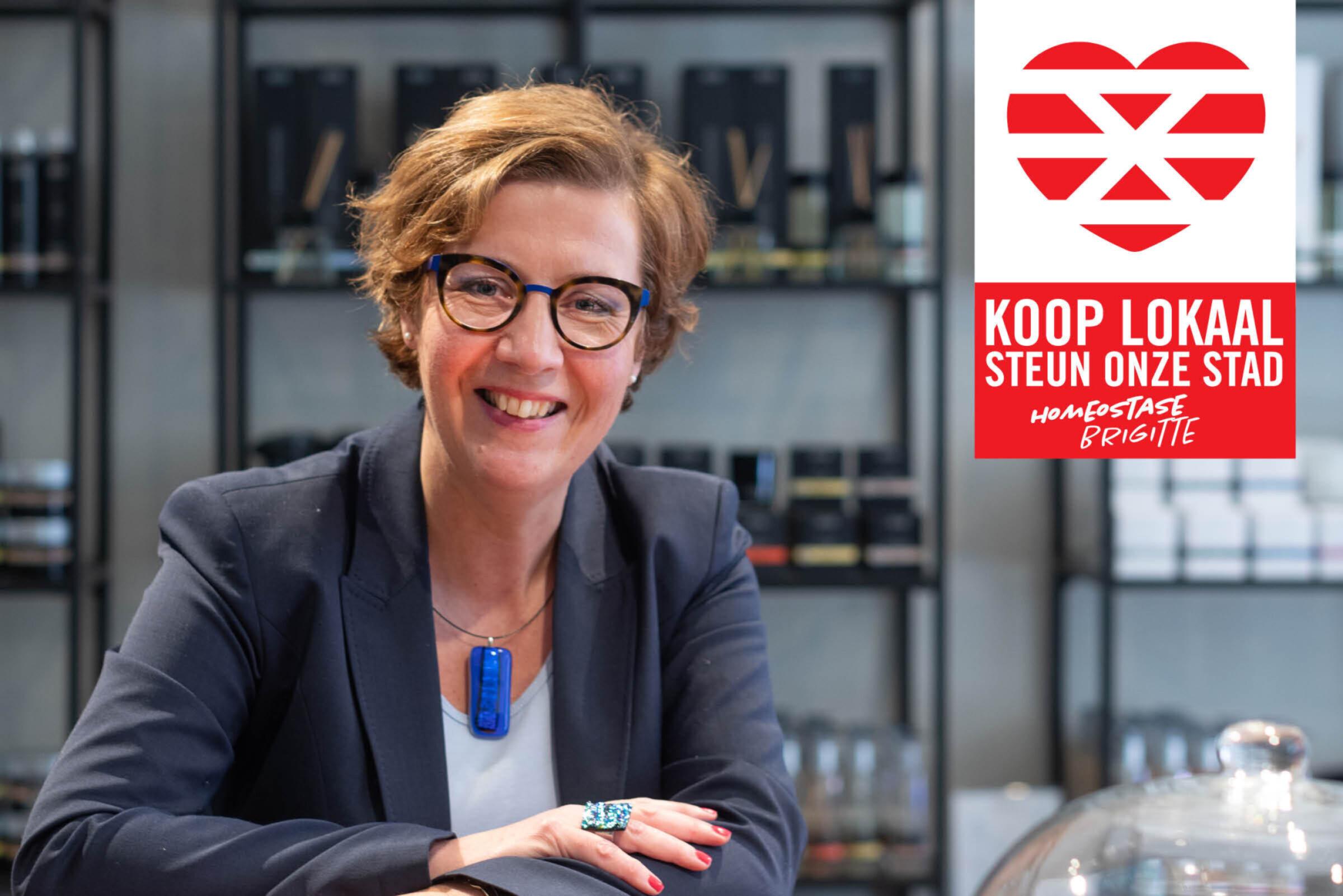 Steun onze stad Koop lokaal Enschede Homeostase Brigitte
