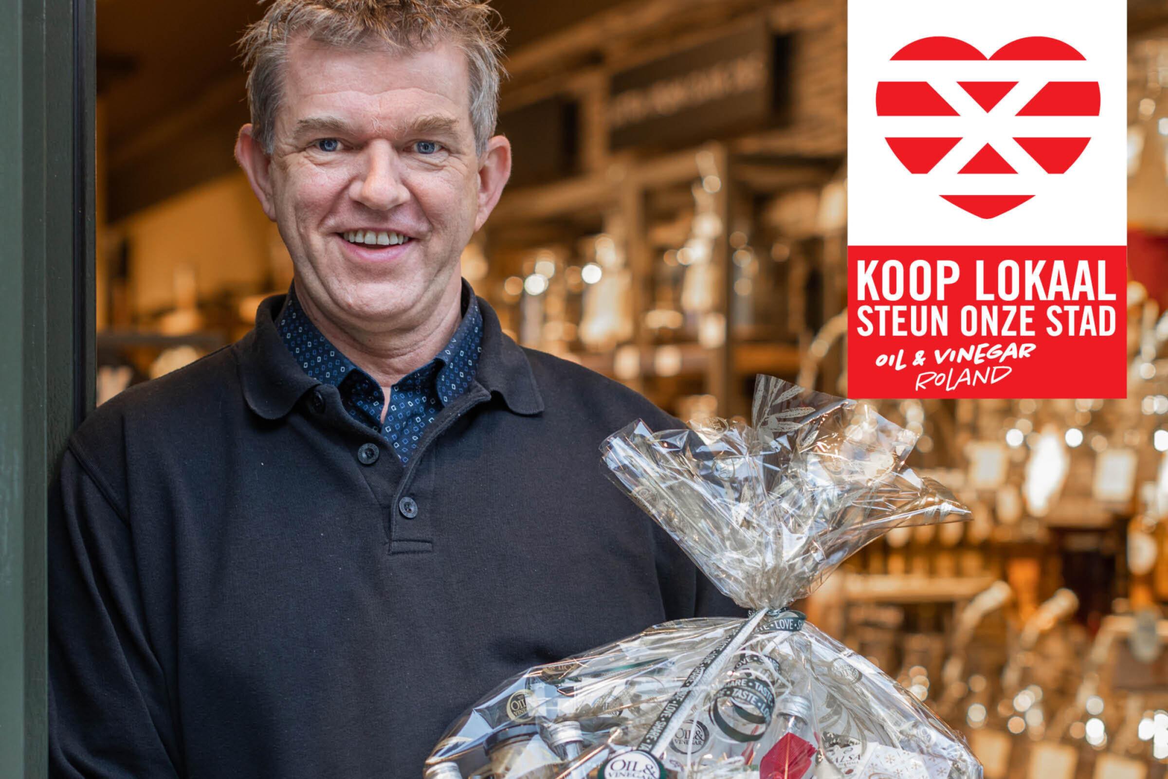 Steun onze stad Koop lokaal Enschede Oil Vinegar Roland