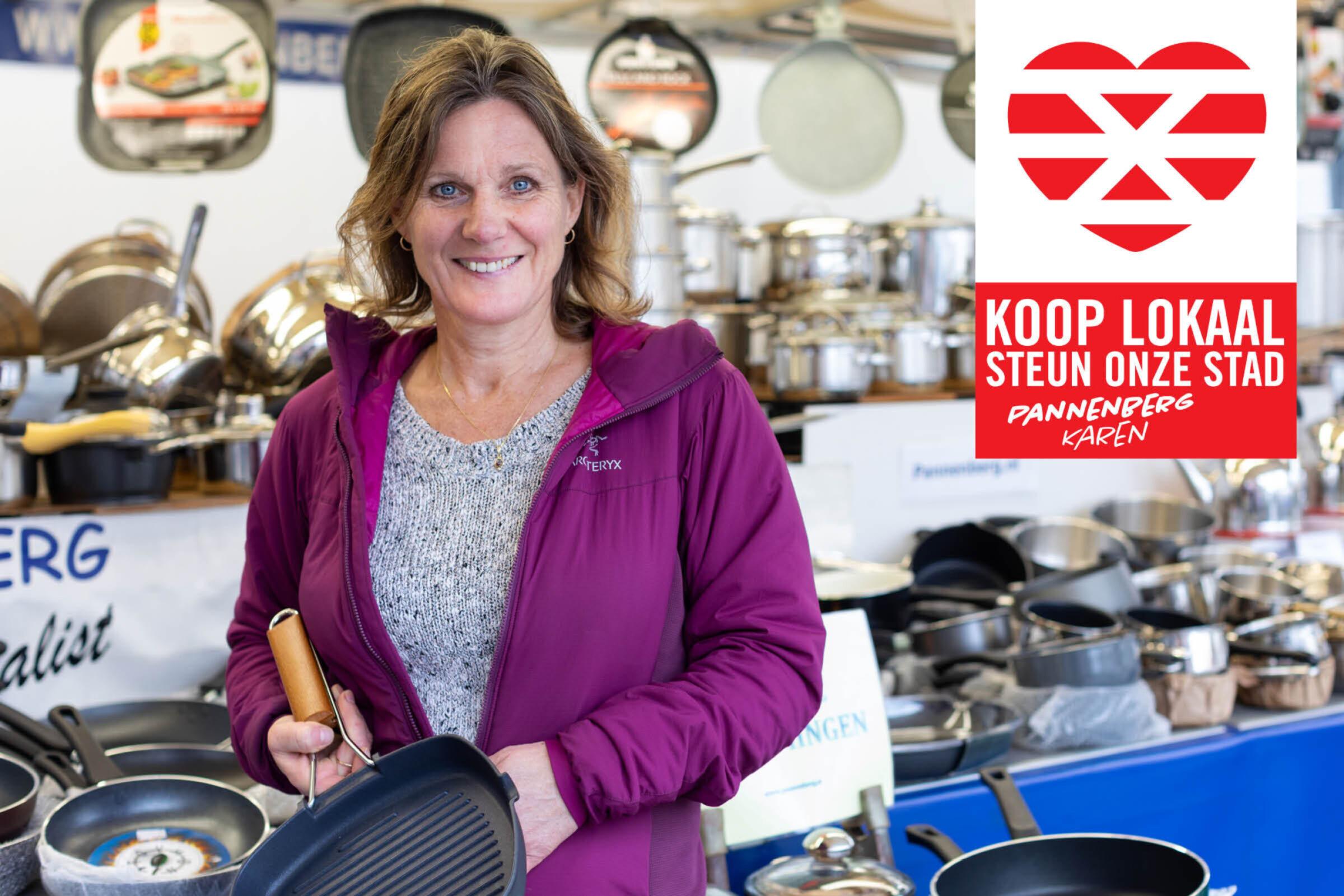 Steun onze stad Koop lokaal Enschede Pannenberg Karen