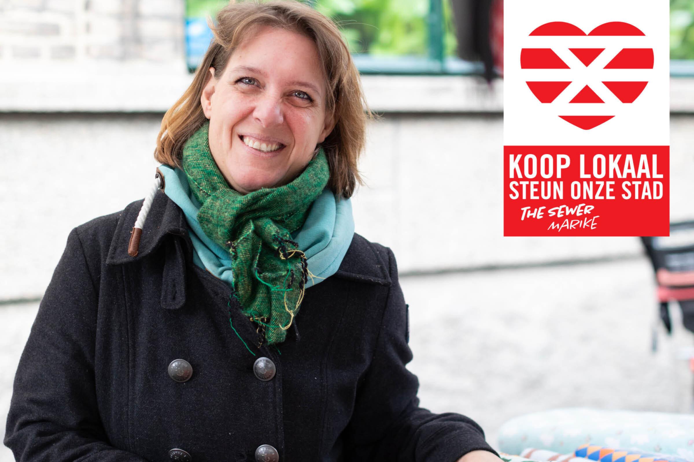 Steun onze stad Koop lokaal Enschede The Sewer Marike