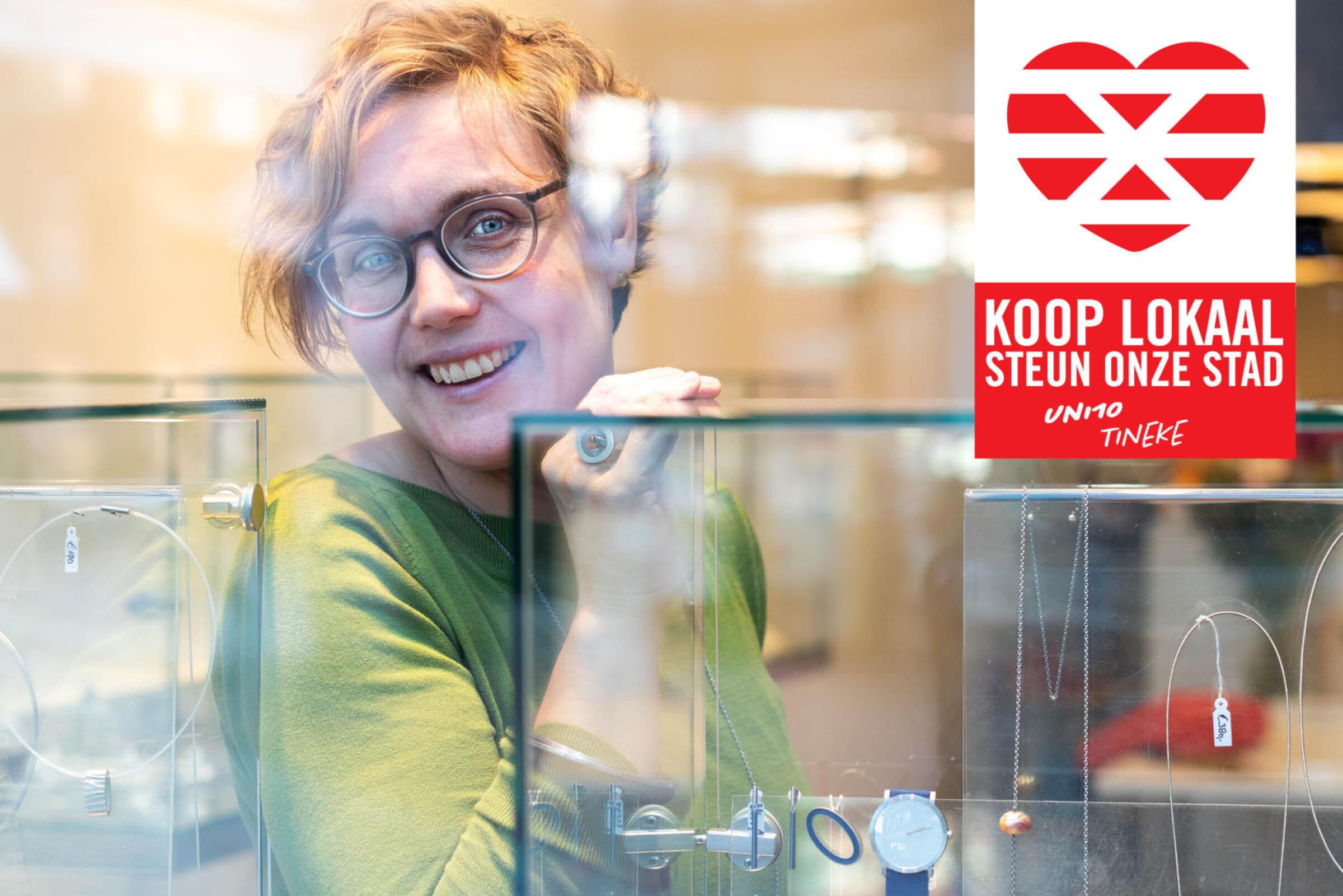 Steun onze stad Koop lokaal Enschede Uni10 Tineke