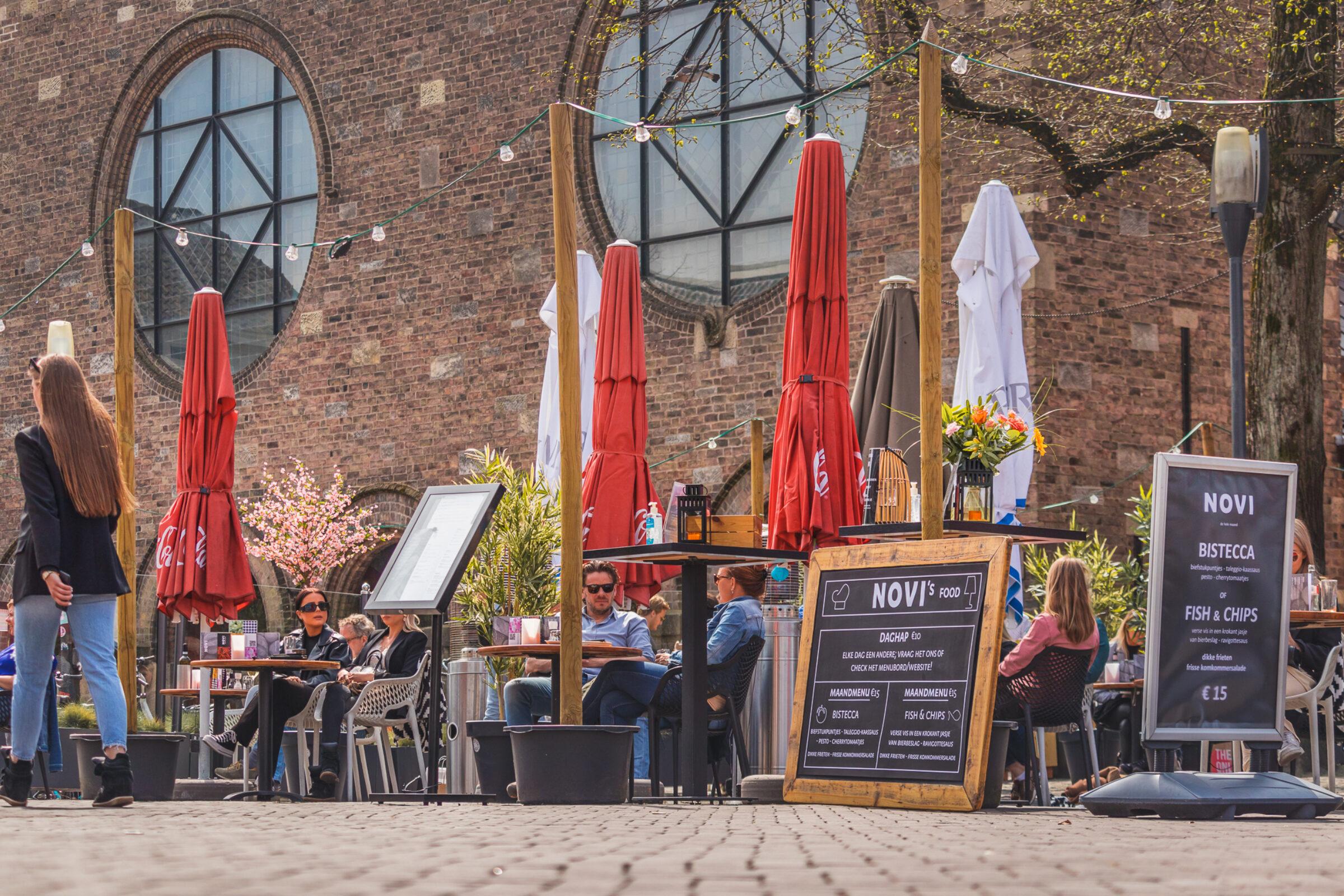 Terrassen Oude Markt Enschede