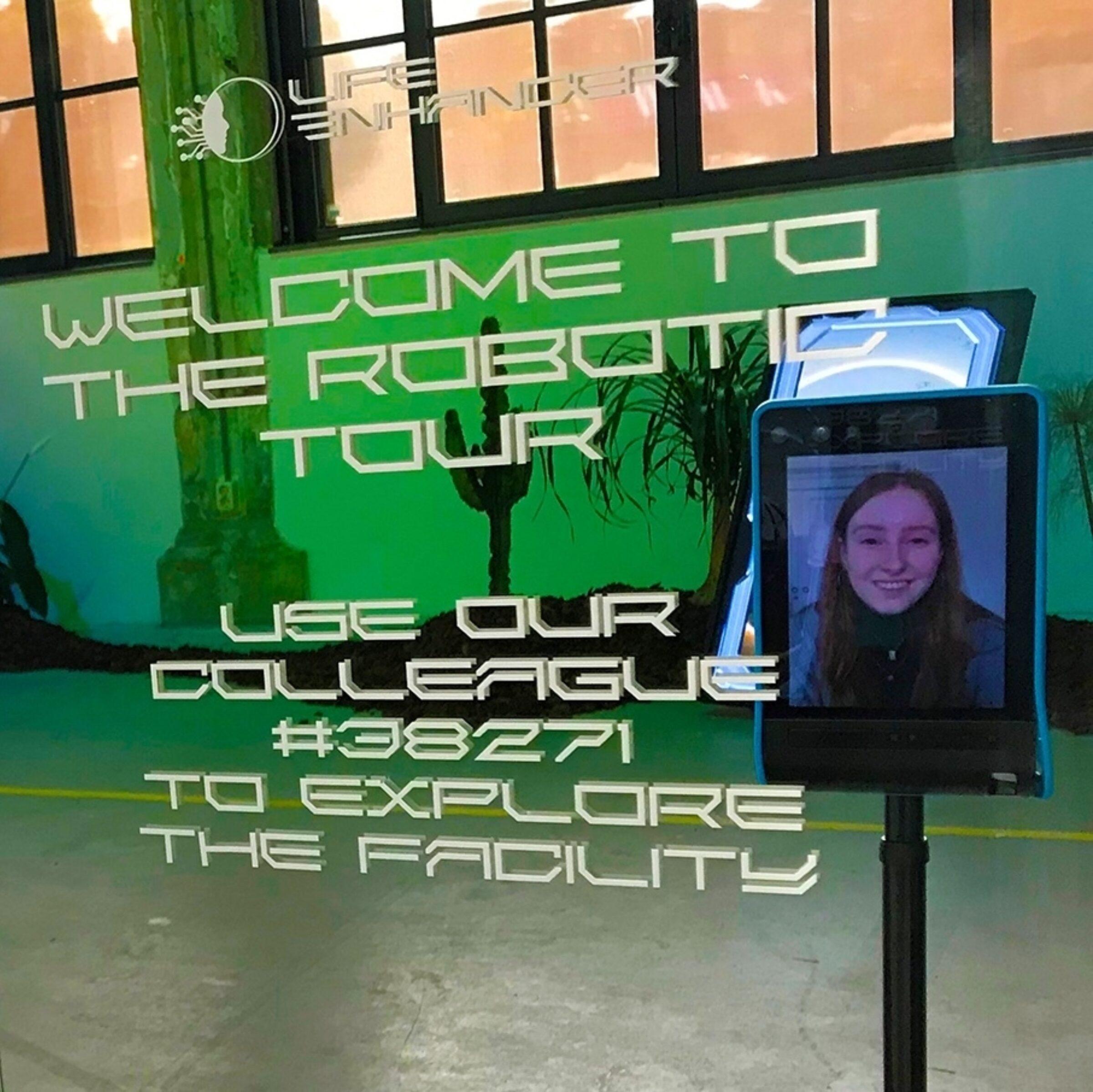 Tetem robot virtual tour