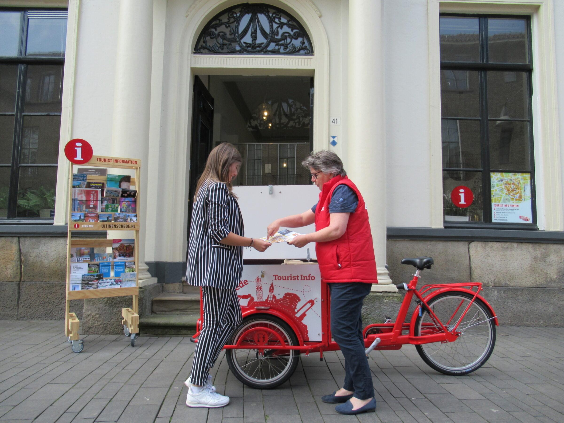 Tourist Info Enschede bakfiets