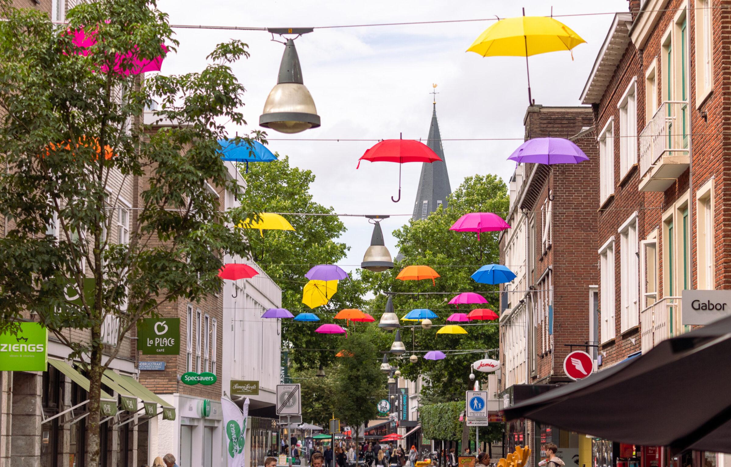 Vier de zomer in Enschede