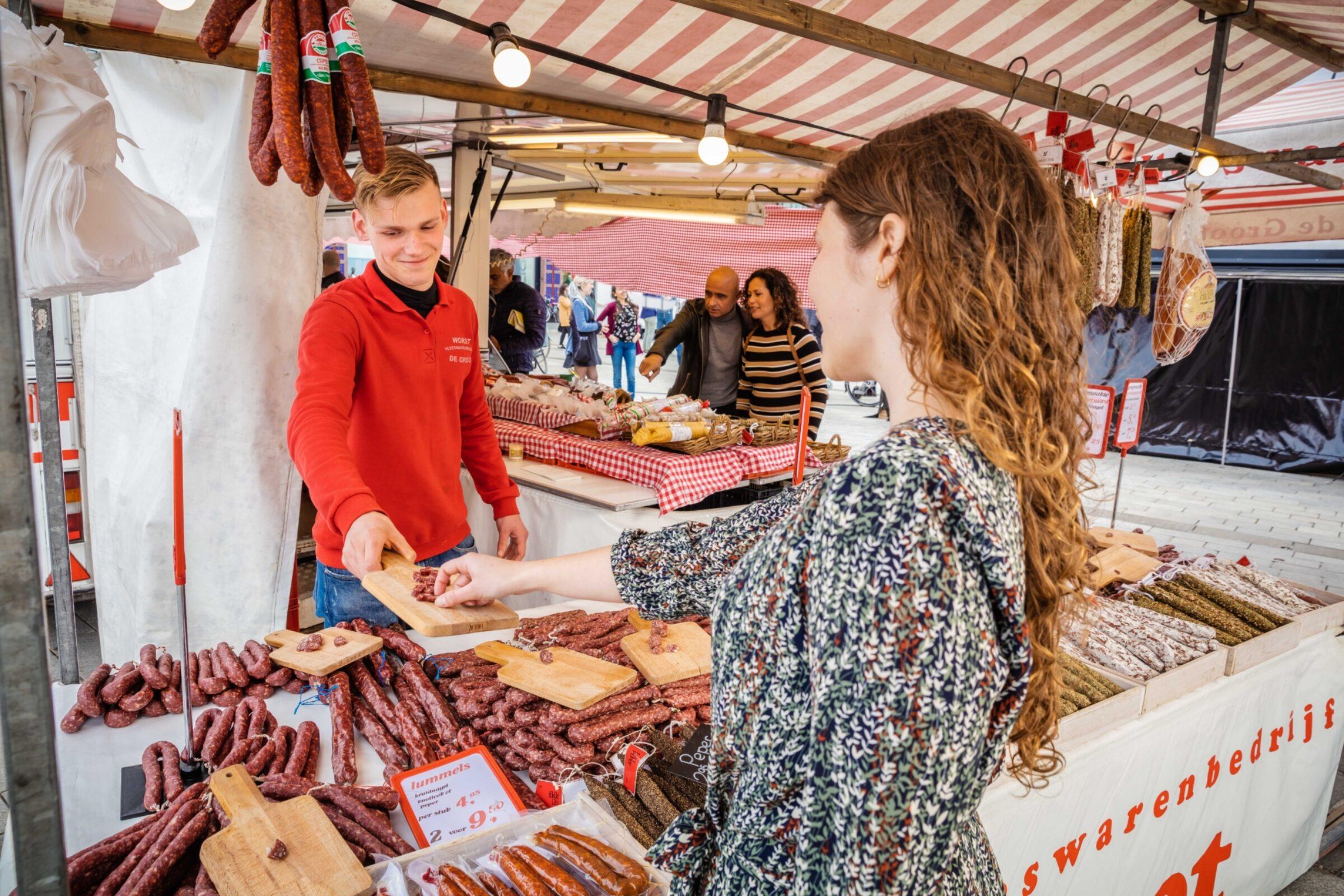 Weekmarkt Enschede // Foto: Jeroen Nieuwhuis