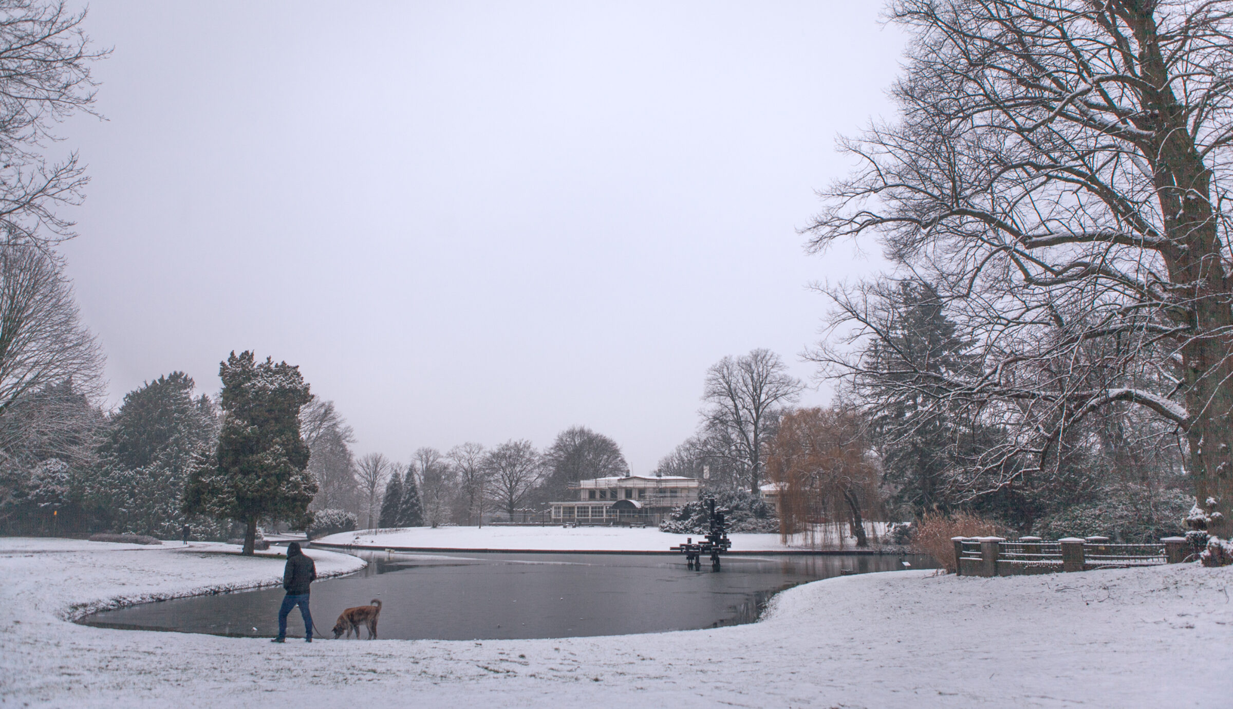 Winterwandeling in Enschede
