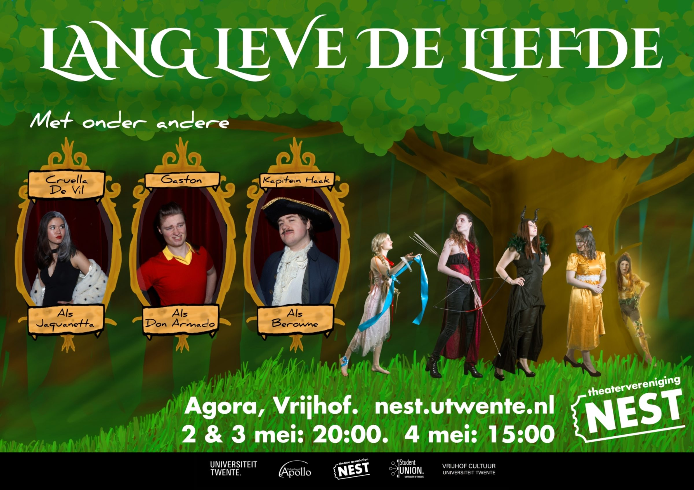 Lang Leve De Liefde Poster 1