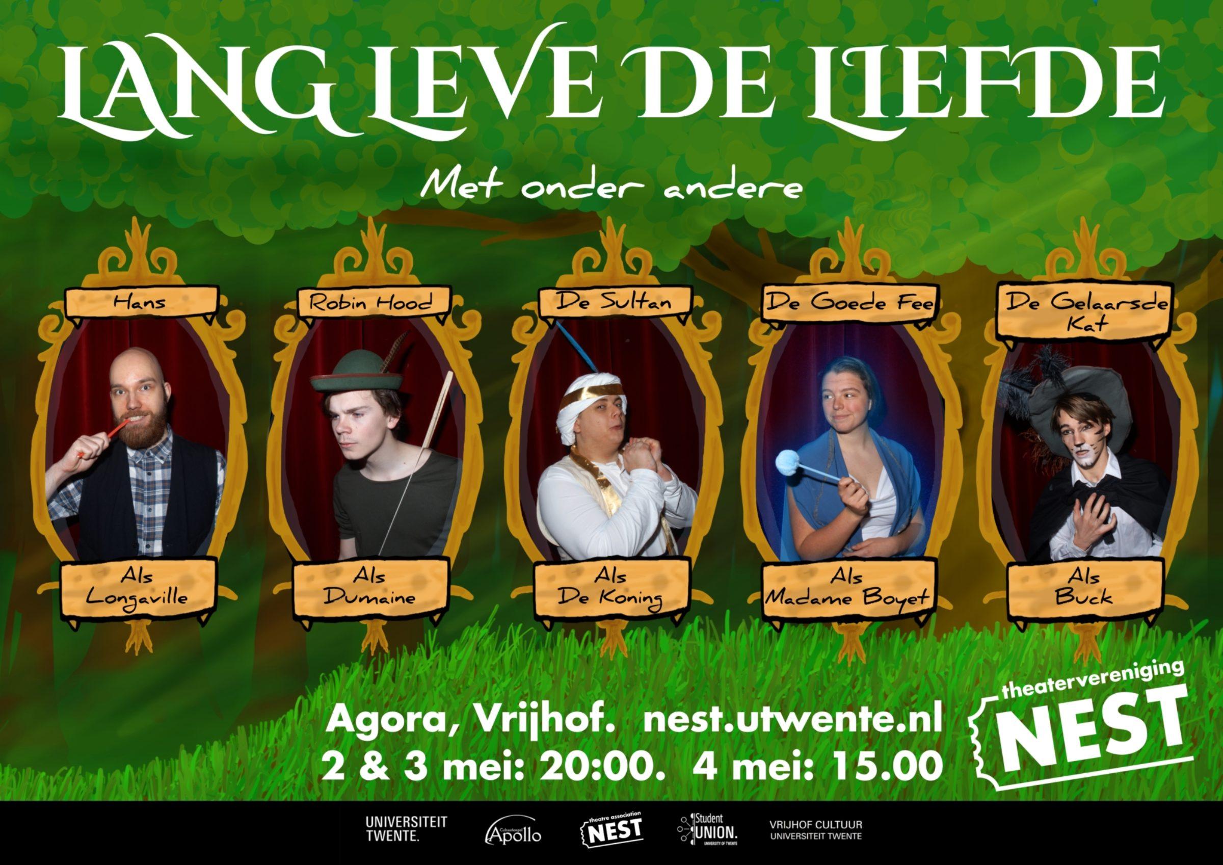Lang Leve De Liefde Poster 2