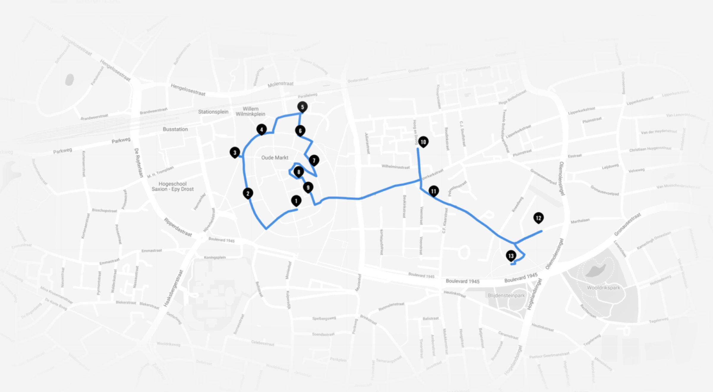 Routes enschede