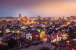 2018 Laurens Kuipers Enschede Luchtfoto Intercity Hotel Panorama Groot