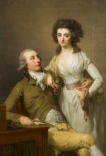 J F A  Tischbein Dubbelportret Van Jacob Hendrik Boode 1764 1826 En Catharina Antoinette Martin 1768 1848 1791 Museum Van Loon