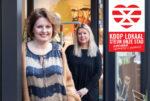 Steun onze stad Koop lokaal Enschede Lincherie Henriette en Jolande