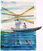Peter Van Den Akker The Deep Blue Sea 2019 35X25Cm Papier