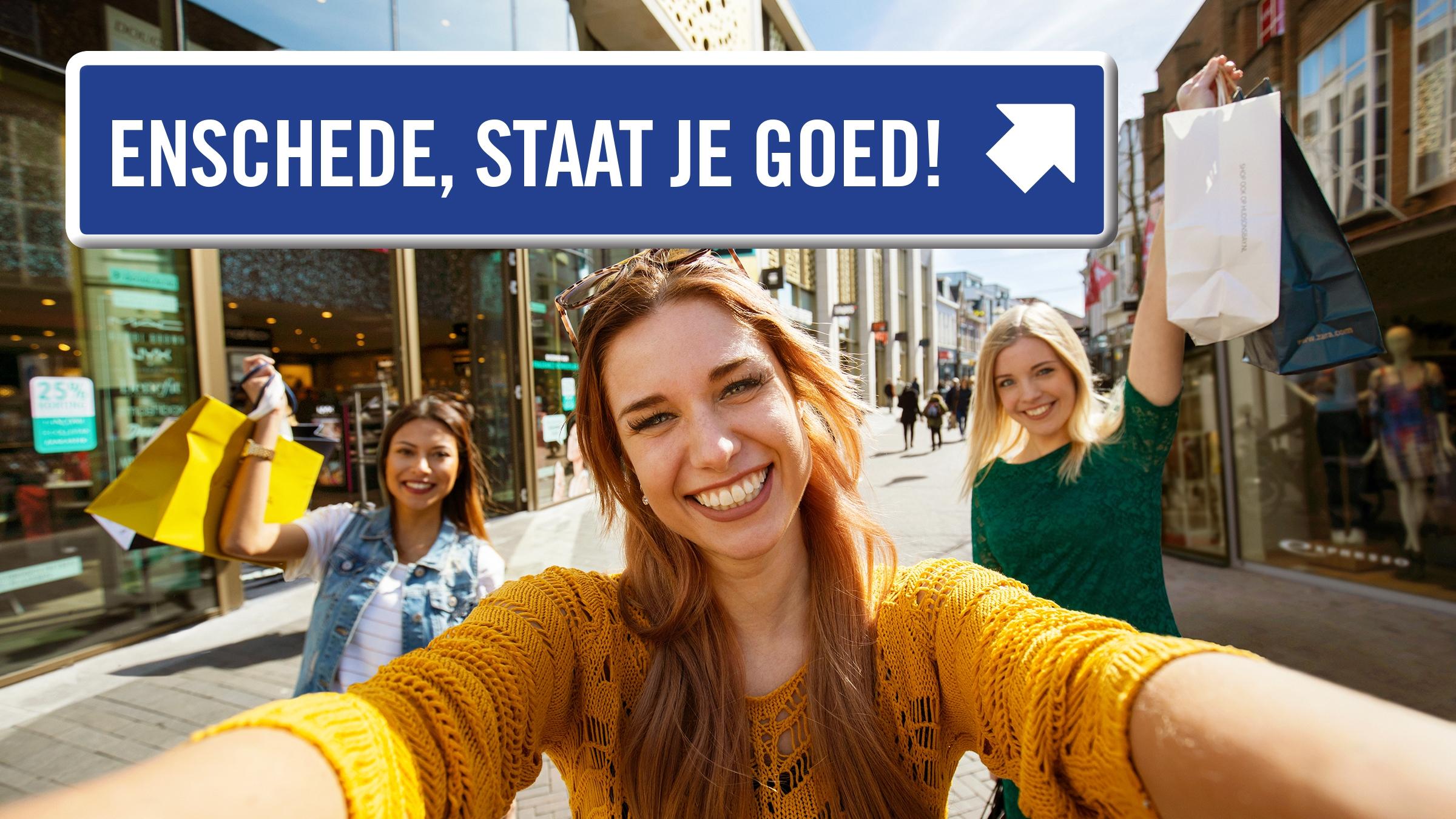 Elke zondag koopzondag in Enschede