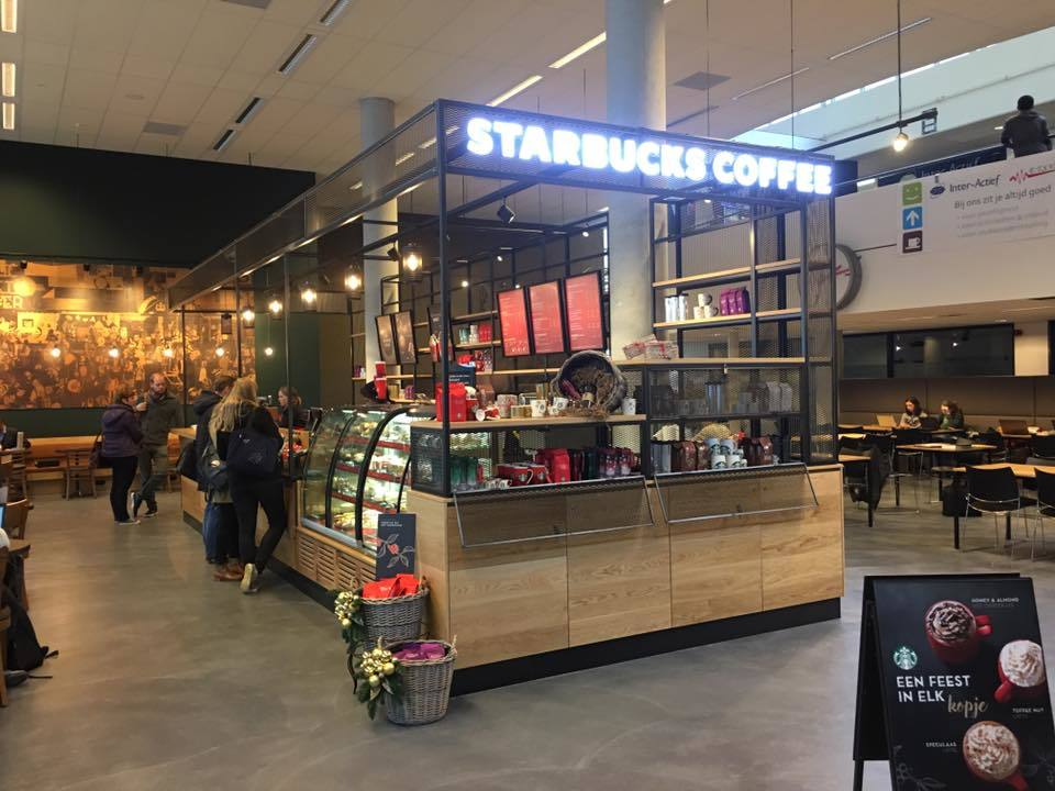 Starbucks Universiteit Twente