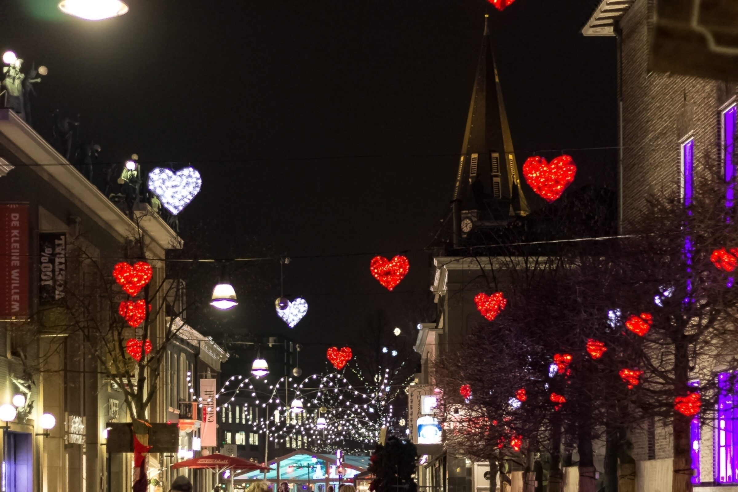 Long Lane of Love tijdens Winter Wonderland Enschede