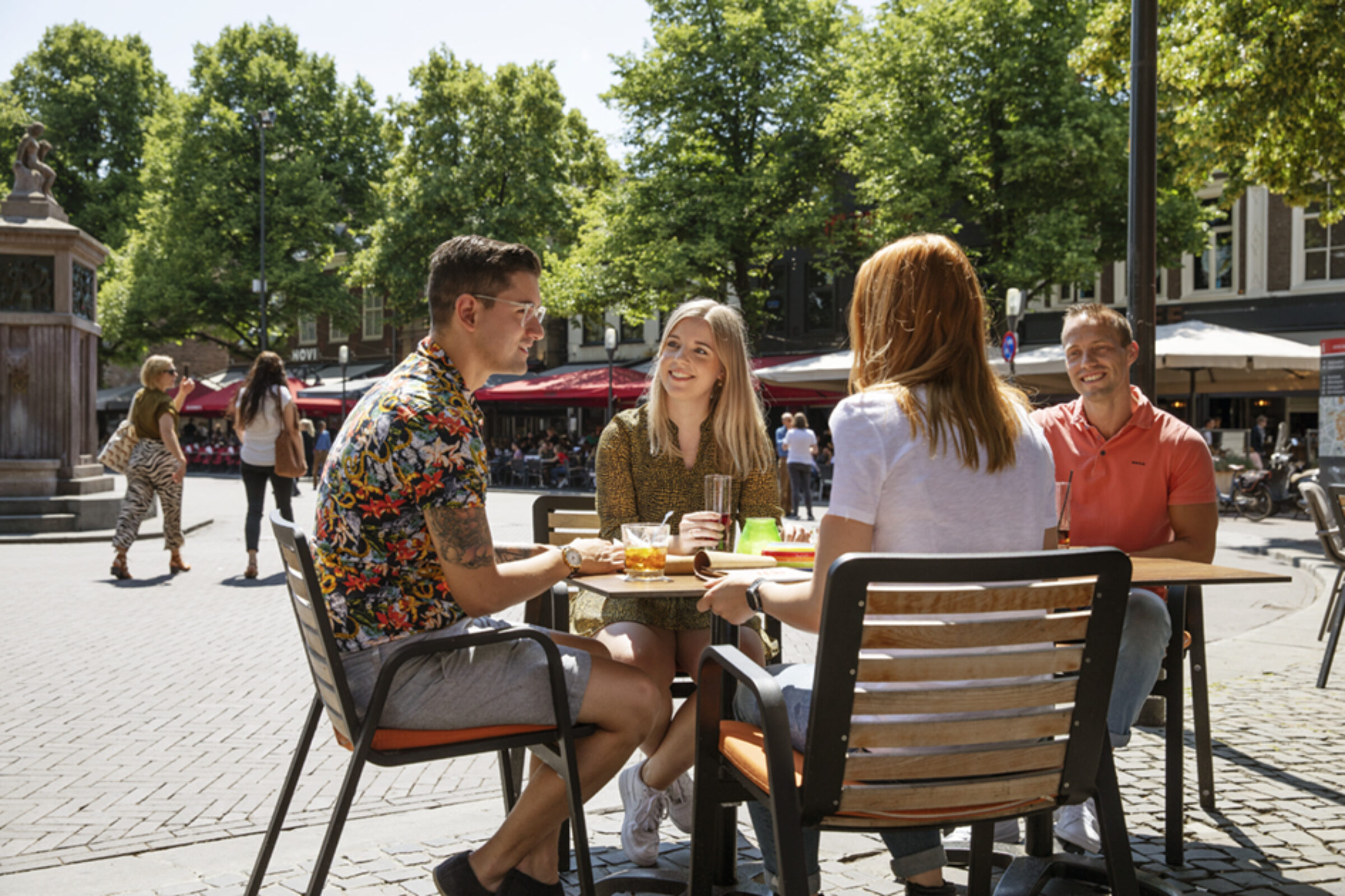 Oude Markt terras Enschede