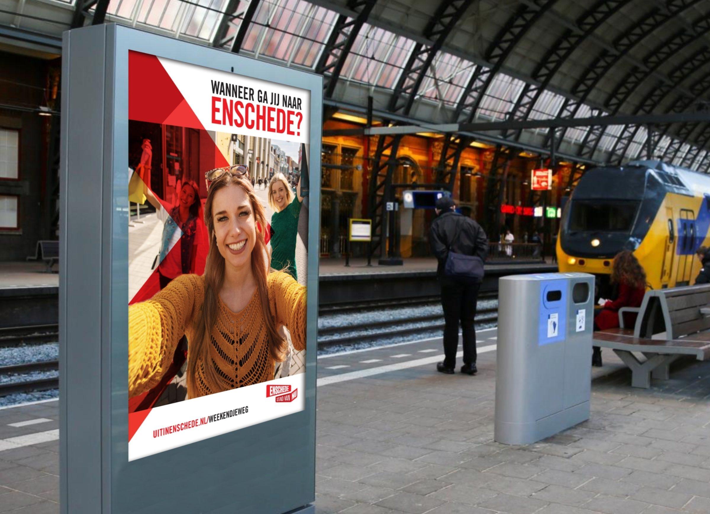 Visual Campagne Wanneer Ga Jij Naar Enschede Enschede Promotie