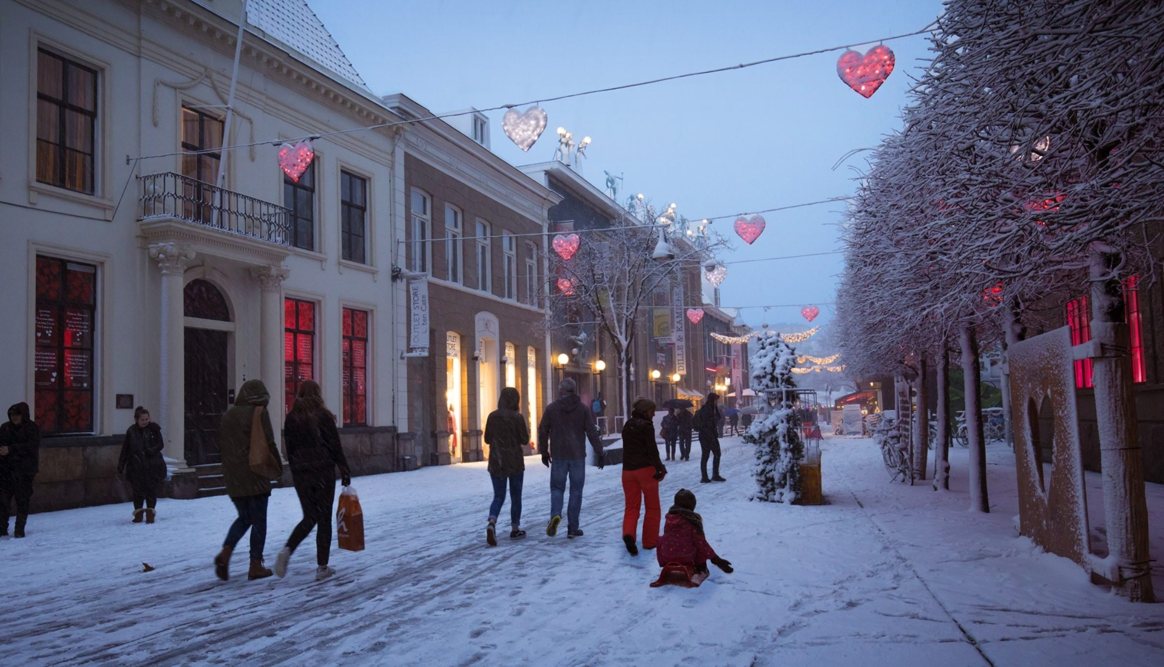 2017 Long Lane Of Love Ebo Fraterman Langestraat Winter Wonderland
