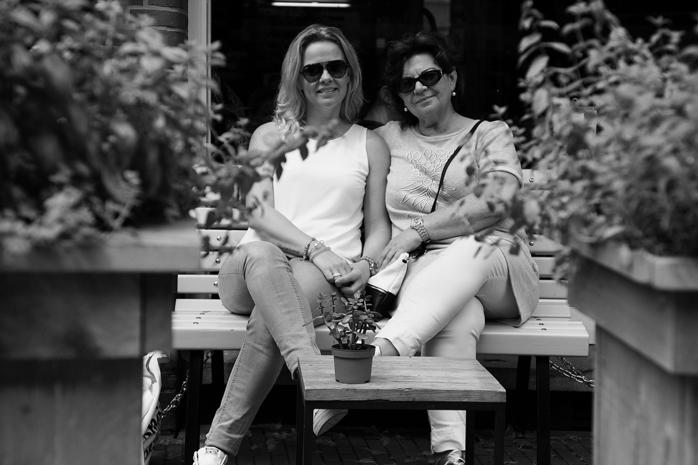 de mensen van Enschede - Annemarie en Hannie