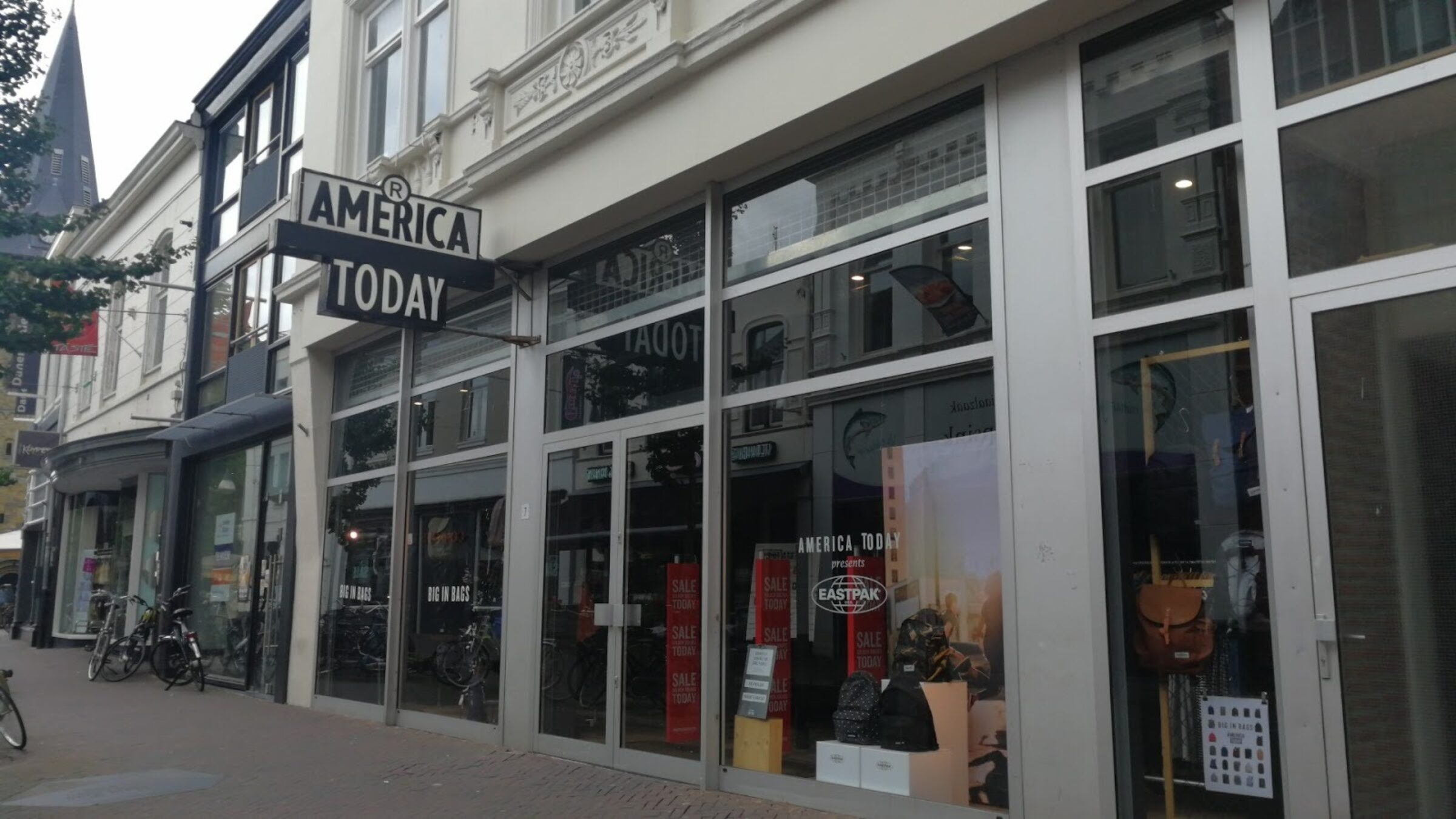 America today marktstraat Enschede