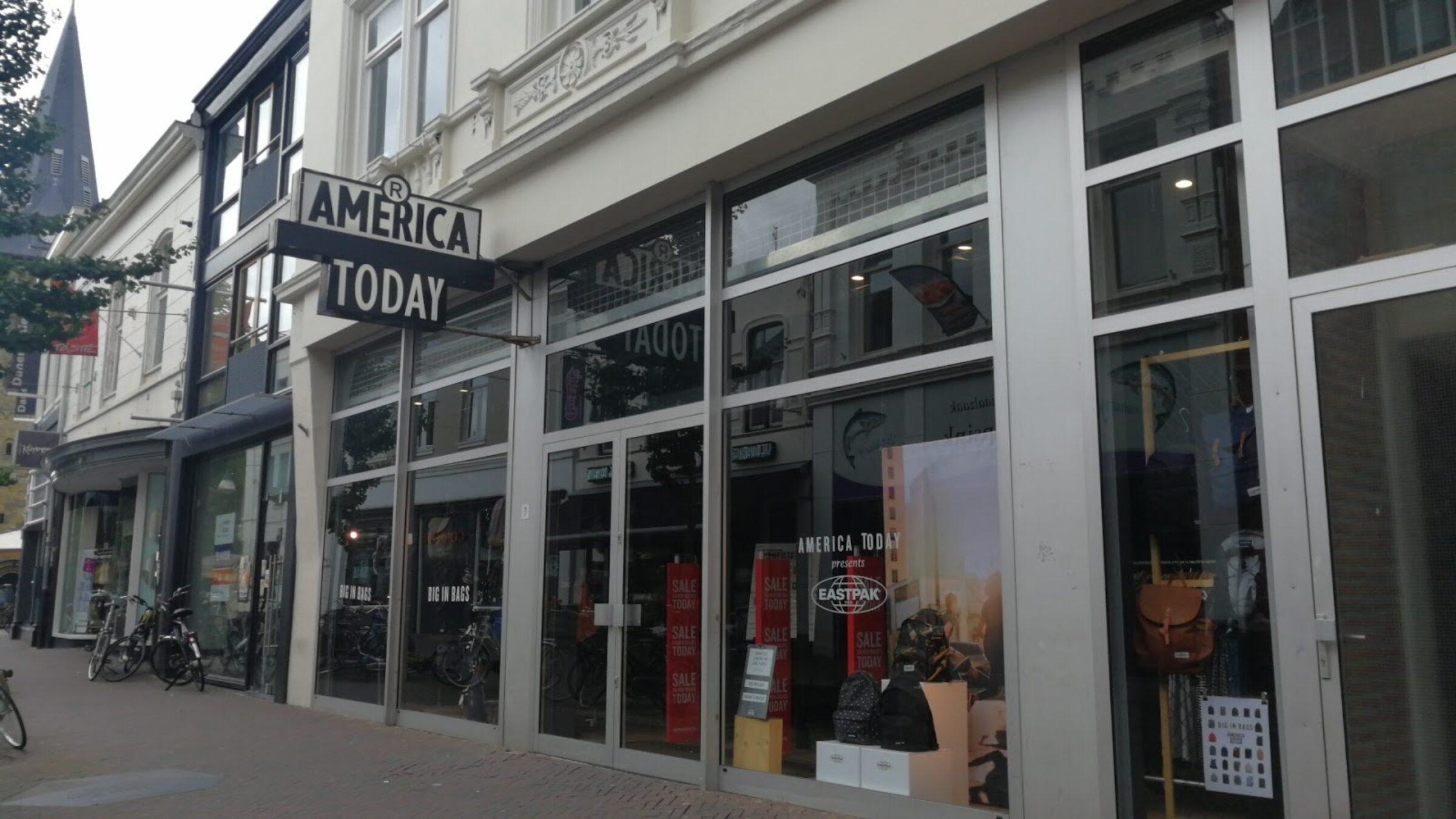 America today marktstraat