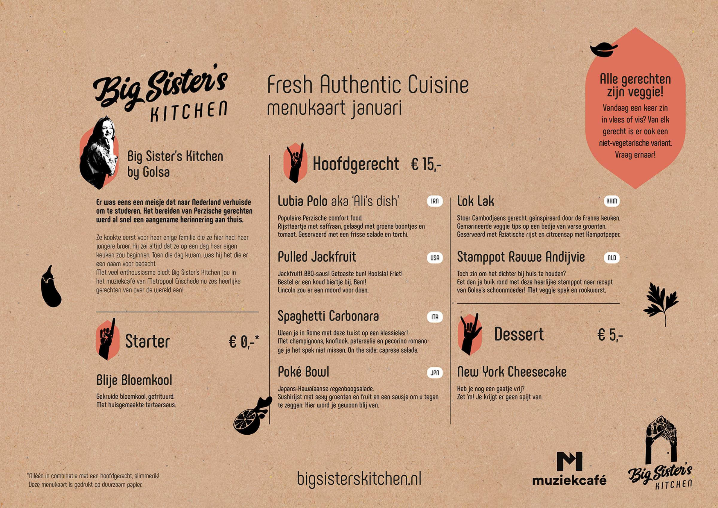 Big Sister's Kitchen Enschede