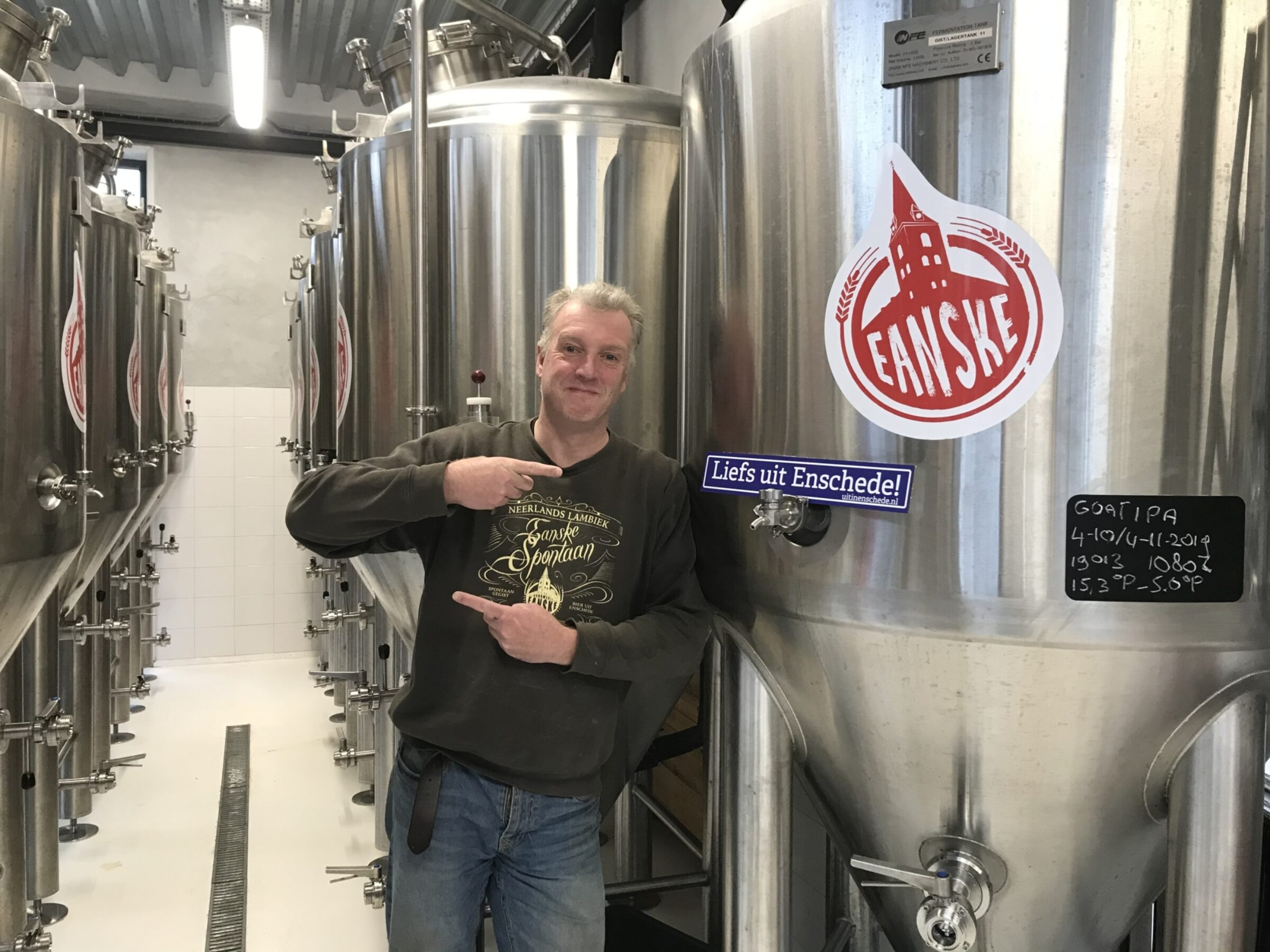 2019 Liefs Uit Enschede Brouwerij Eanske