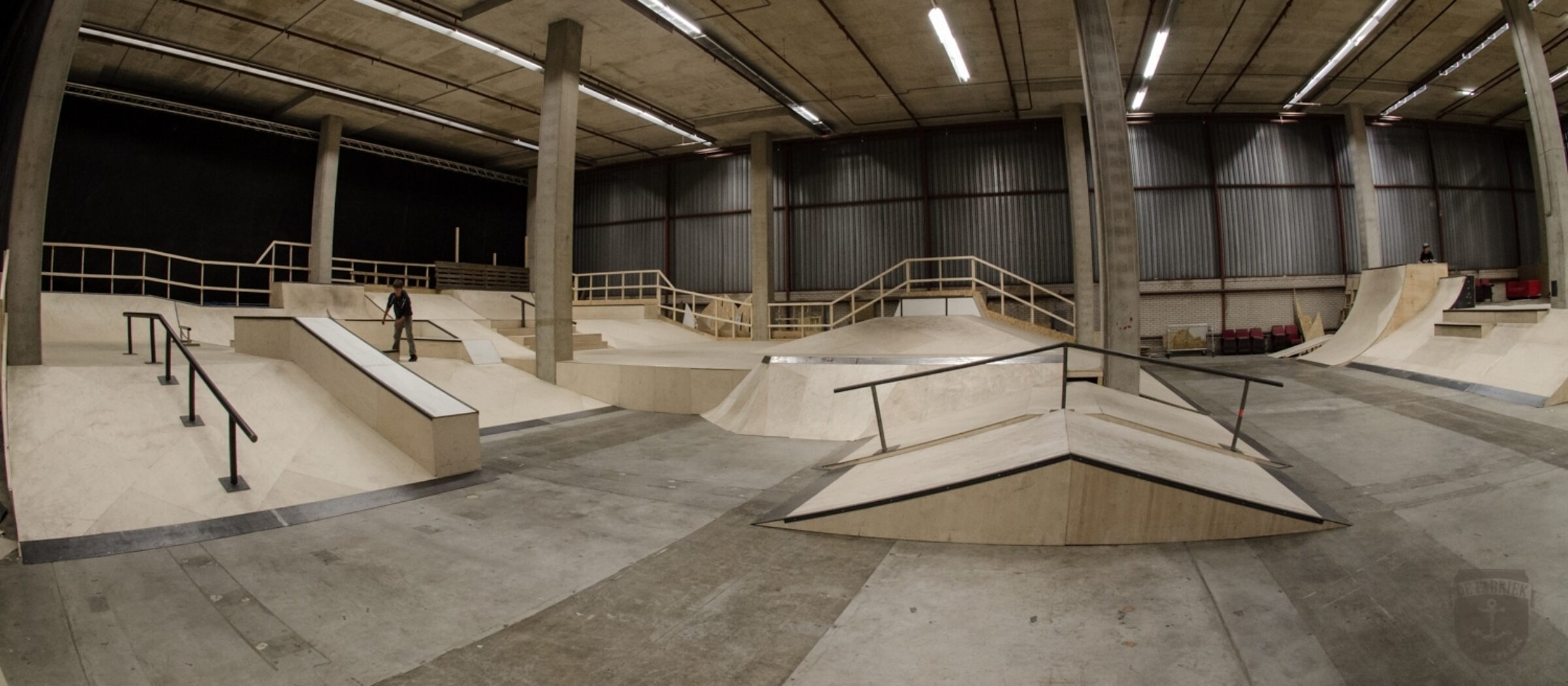 de fabriek skatepark enschede