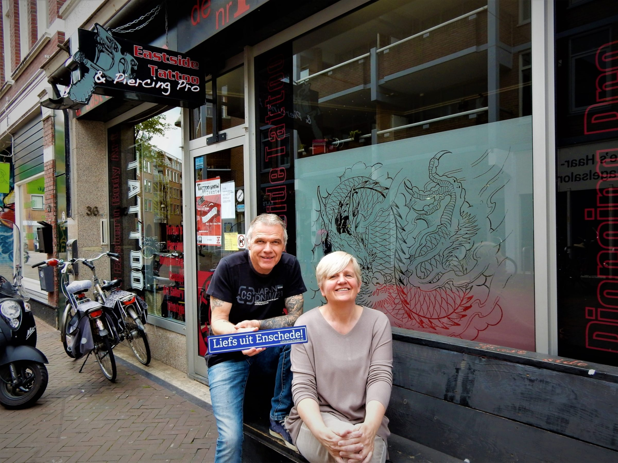 2017 Liefs Uit Enschede East Side Tattoo Marketing En Campagnes 2