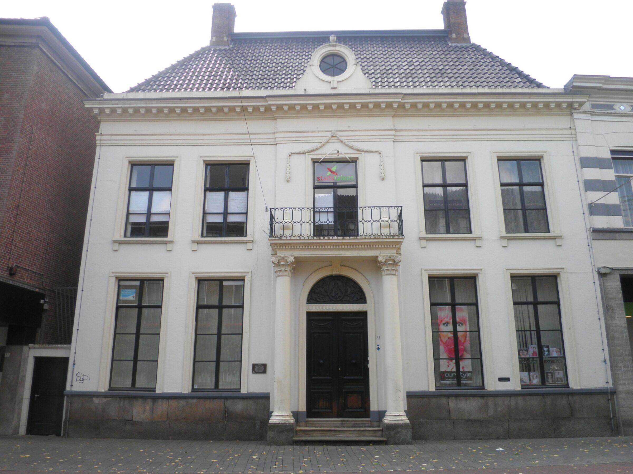 Het  Janninkshuis In  Enschede  0128129