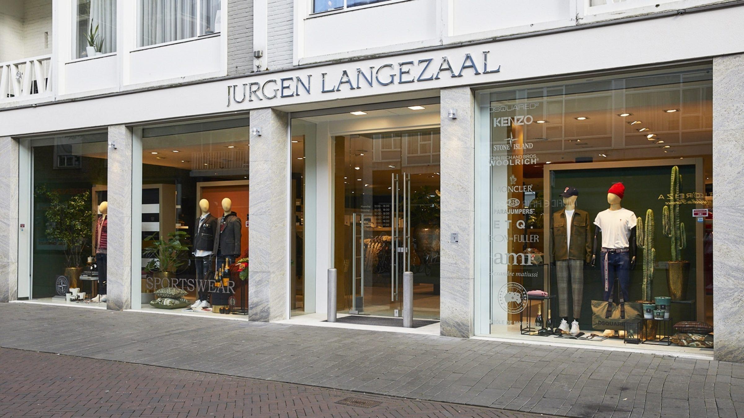 Jurgen Langezaal Sportswear Gevel 1600X900