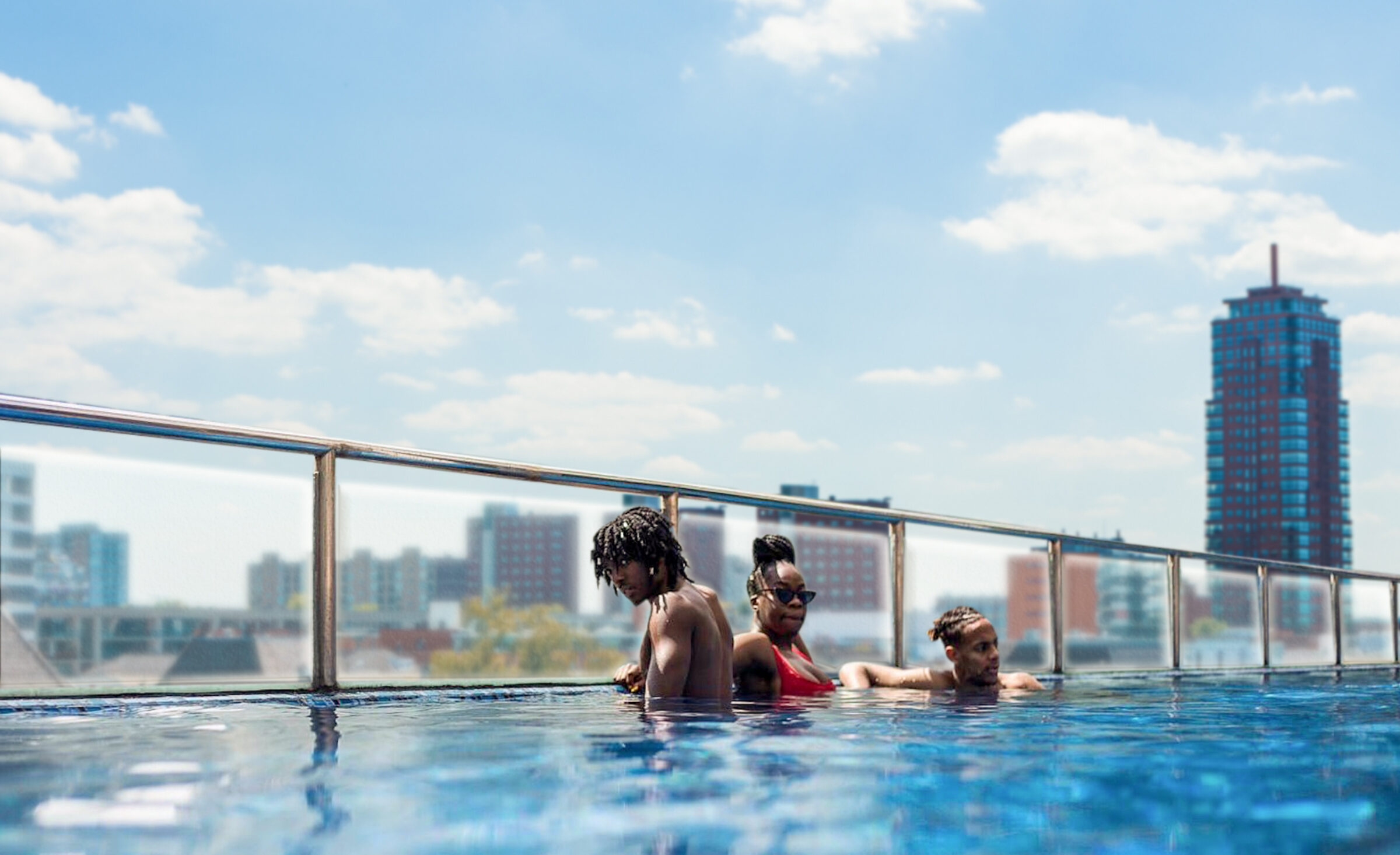 Neues hotel Enschede infinity pool