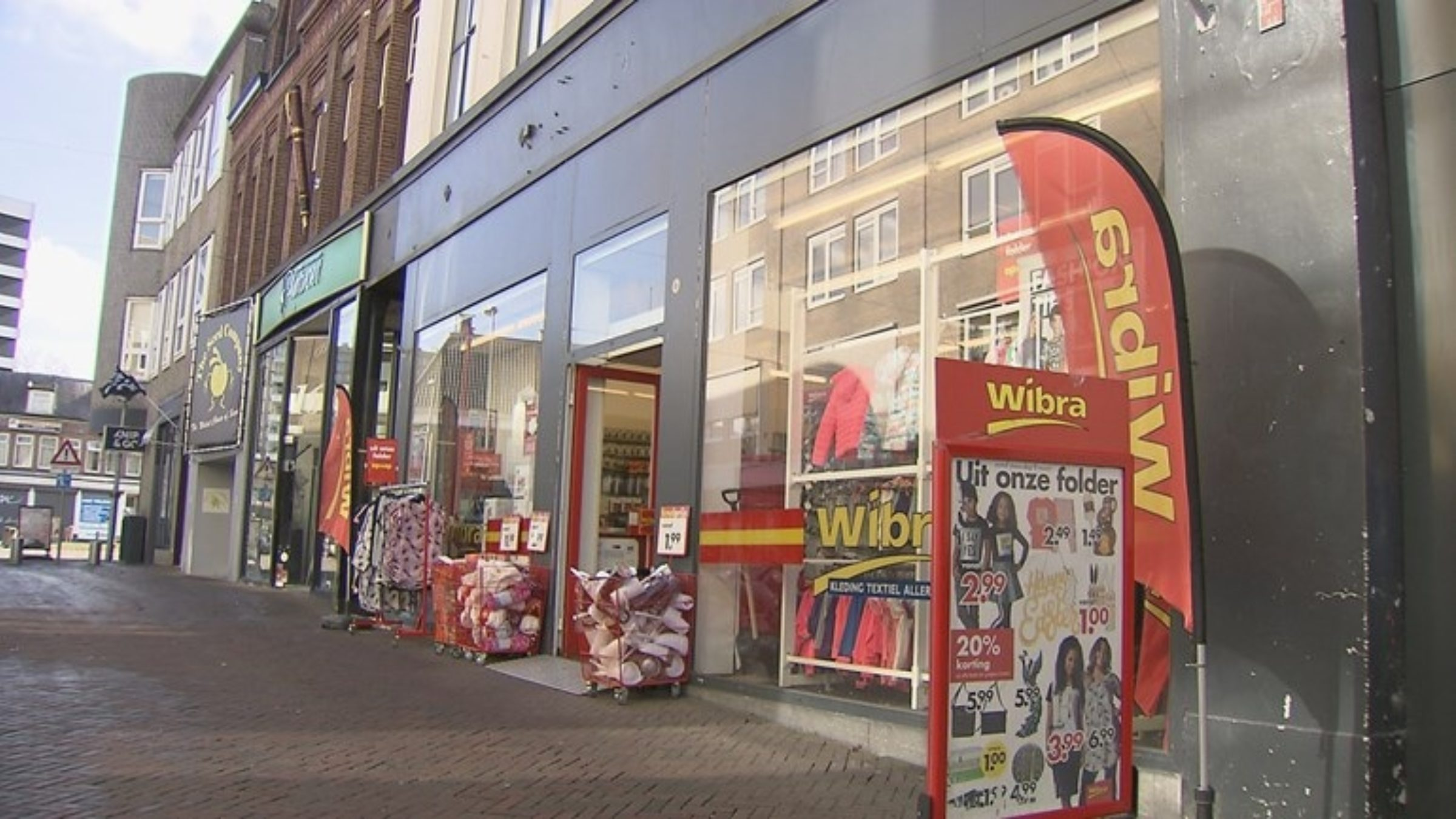 De Wibra Aan De Klomp In Enschede
