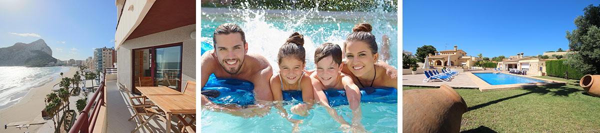 Meer informatie over familieverblijven in Calpe.