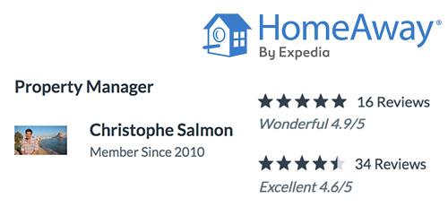 Homeaway Reviews - Costa CarpeDiem - Christophe Salmon