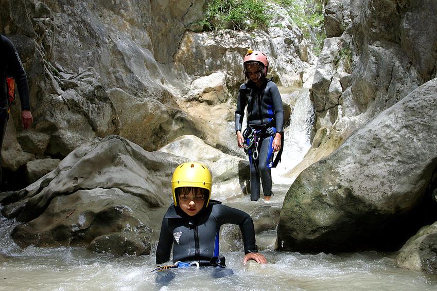 Canyoning dans les Gorges du Verdon