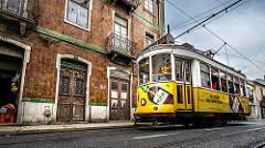 By Giuseppe Milo Tram 28 - Lisbon, Portugal