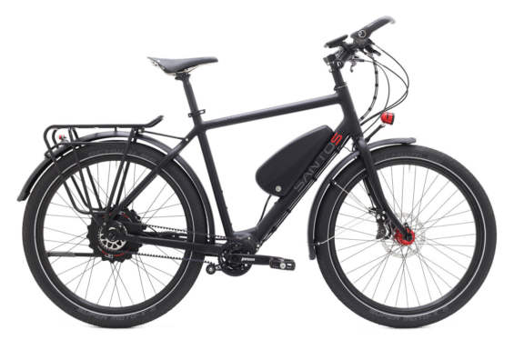 Tl Plus Ebike Heren Black
