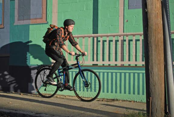 Navigator Riding By Mural Hq