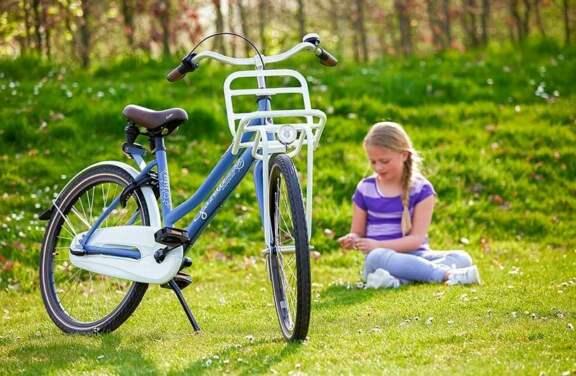 Gazelle Miss Grace M Dchen Fahrrad Blau 1