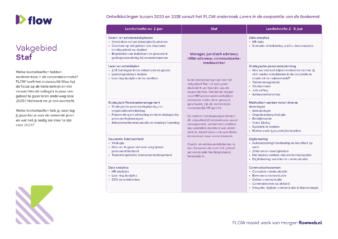 Praatkaart onderzoek Flow staf zonder leersuggesties A4