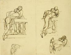 Sketches for a composition of 'Romeo and Juliet'