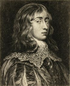 Self-Portrait in the Style of Van Dyck