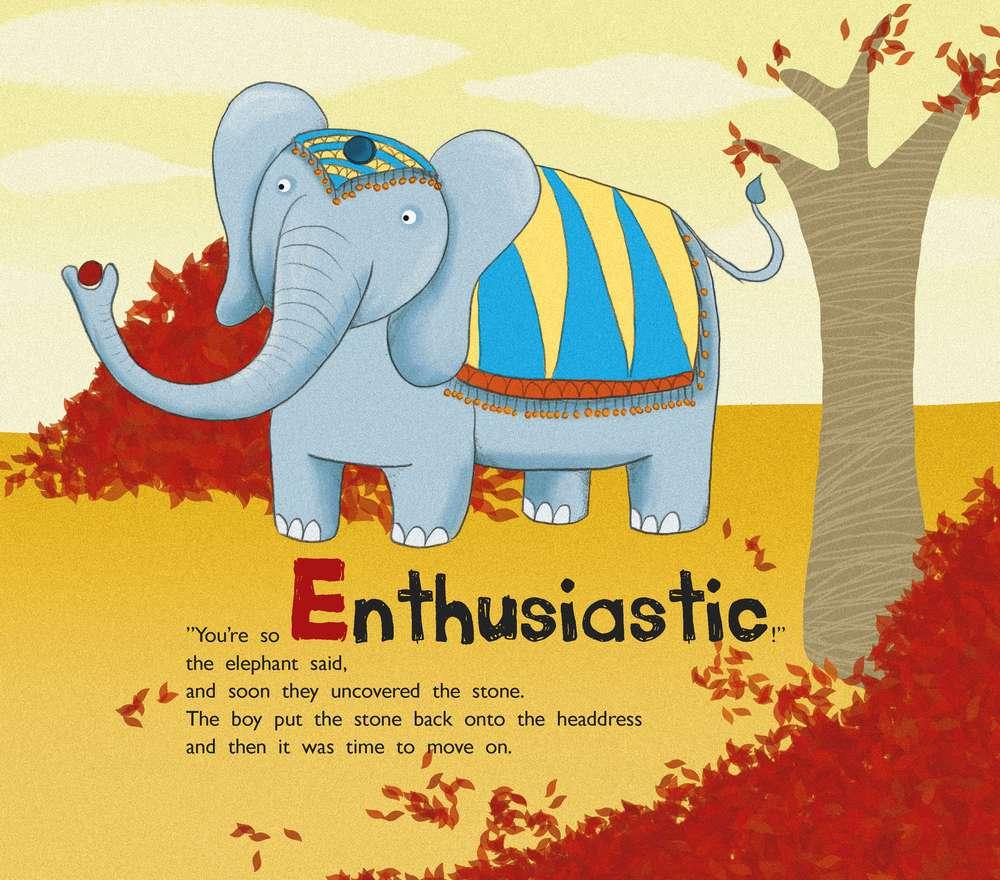 energetic story book