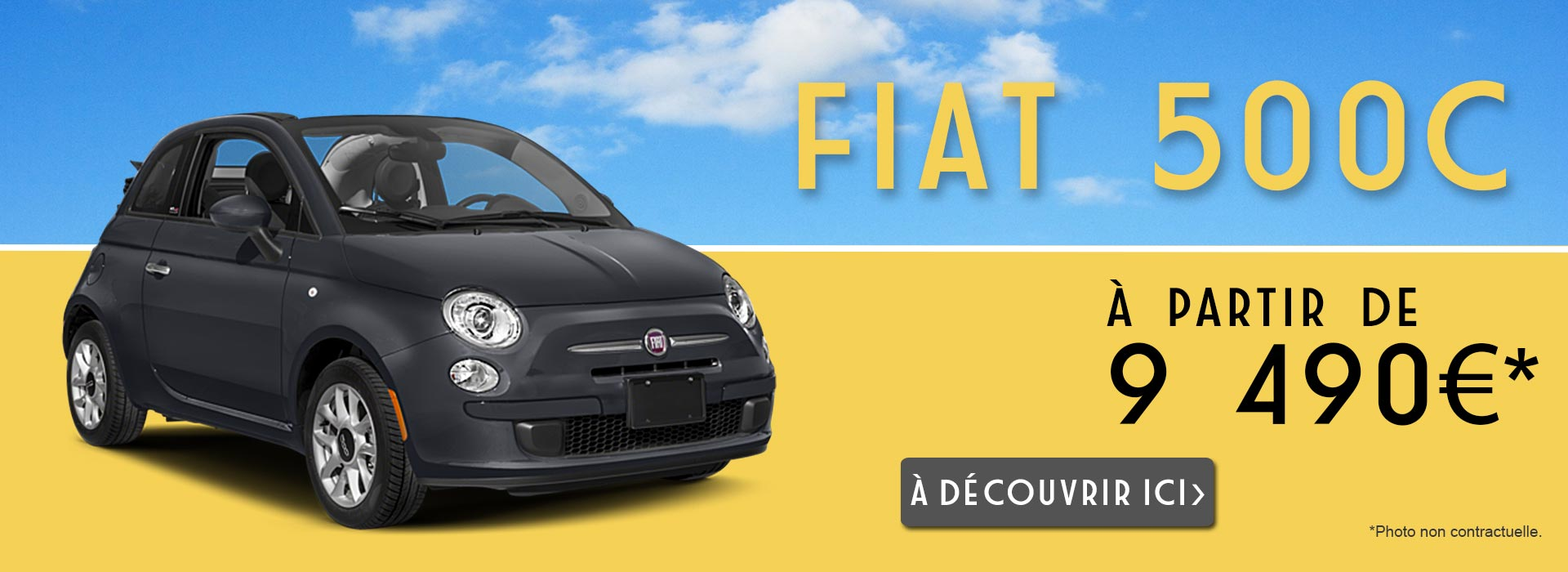 fiat 500 occasion achat fiat 500 500c 500l 500x. Black Bedroom Furniture Sets. Home Design Ideas