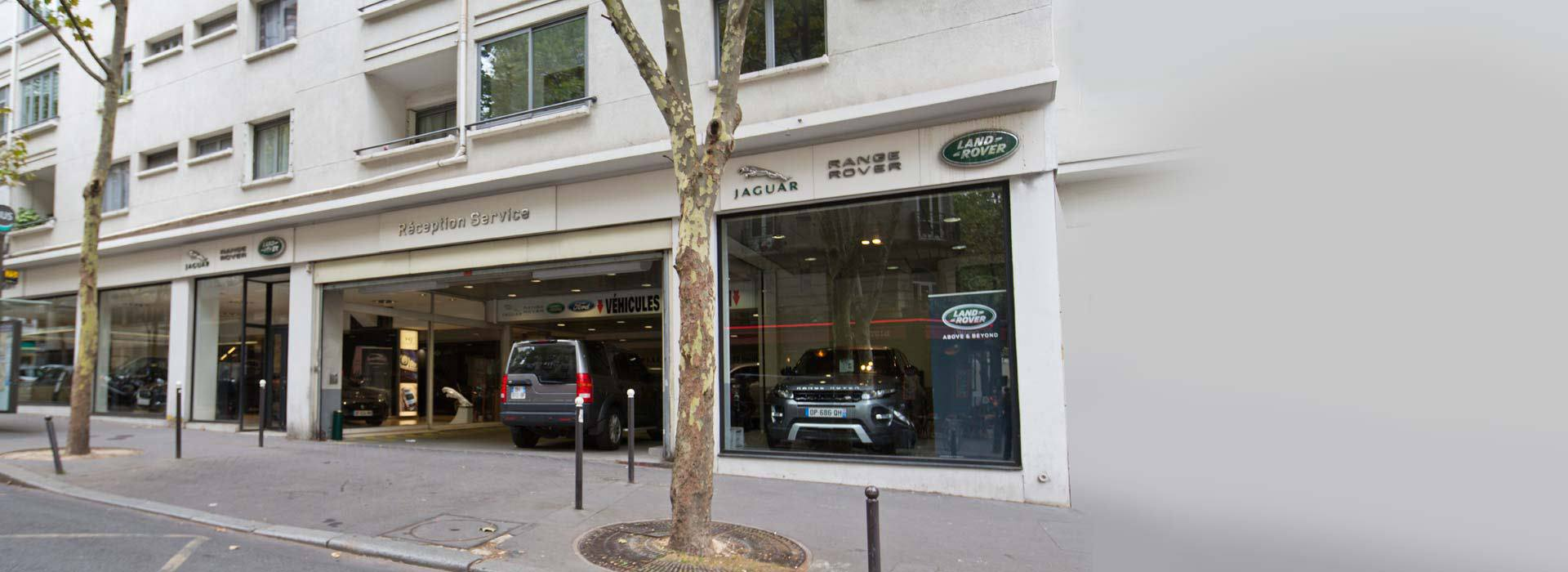 jaguar paris concessionnaire garage paris 75